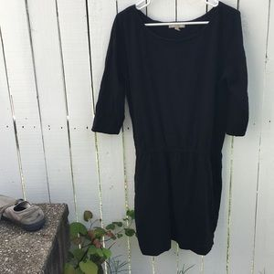 BR. Black casual dress